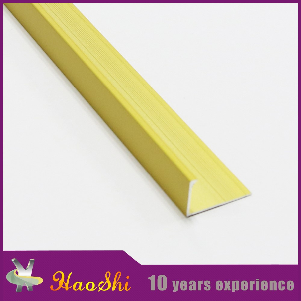 Customized specification and surface treatment aluminum inside and outside corner guards