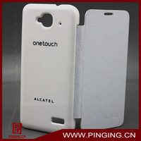 Battery back cover flip case for alcatel one touch idol mini 6012