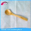 100% Natural Bamboo Cheap Small Bar Cooling Cupping Stirring Coffee Spoon