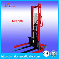 Best-Selling safe and stable hand pallet stacker fork lift
