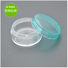 Stock 3G 5G 10G 20G 30G Wide mouth clear plastic Ps jar face hand cream mini jar