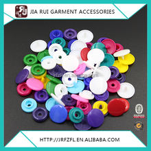 POM AND PP WHITE AND COLORFUL PLASTIC SNAP BUTTON FASTENERS PRESS STUD POPPERS T3/T5/T8