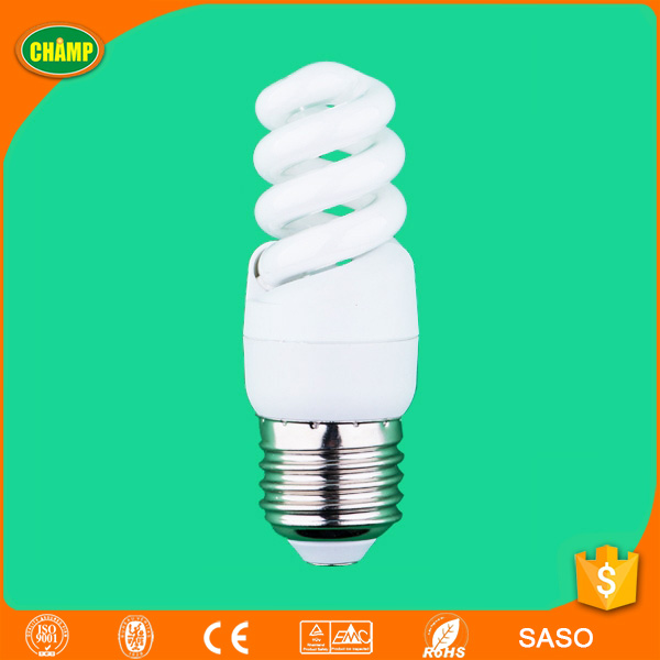 mini t2 5W spiral cfl lighting