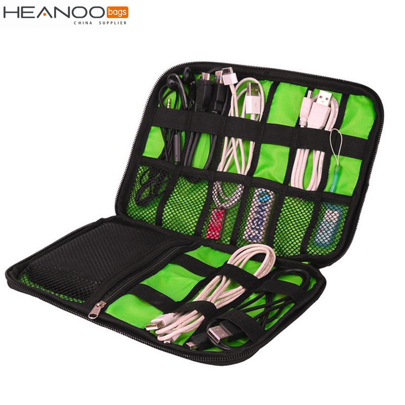Electronic Accessories Bag high quality Portable Travel hard Case Digital Storage Bag