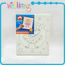 ODM available decoration craft plastic canvas on roll