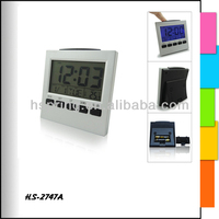 Desk clock with backlight and countdown timer