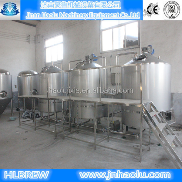 1000L/batch beer brewing equipment,Draft beer brewery equipment and Argon Welding tanks