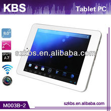 2014 Best Selling Supports Adobe Flash 10.1 8 Inch Retina Screen Tablet PC
