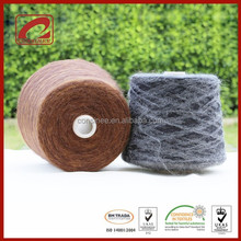 Fashion and fancy style stock mohair acrylic blended yarn