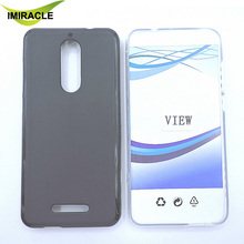 Top Quality Silicone Soft TPU Matte Pudding Cover For Wiko View Black Phone Cases