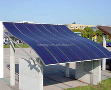 High quality Hanergy flexible solar panel, amorphous silicon material rollable solar panel