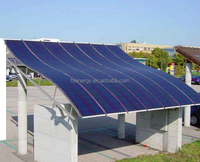High quality flexible solar panel, amorphous silicon material rollable solar panel