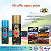 spray paint colorful/acrylic-based handy spray paint with glass bead/ spray paint for transparent roof tile