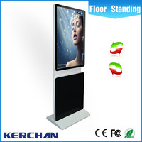 42 inch rotating amdroid system tv led flexible screen digital sign manufacturing company
