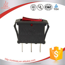 Factory Selling Wholesale Illuminated ON-OFF SPST T125 Rocker Switch
