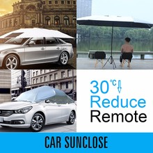 SUNCLOSE waterproof folding car garage cafe modern parasol peva motorbike cover