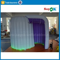 wedding decoration inflatable photobooth shell used photo booth kiosk for sale