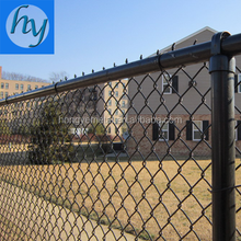 Anping Factory Hot Dipped Galvanized 8 Gauge Chain Link Fence
