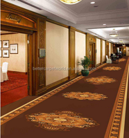 Jacquard Style and Wool blended Nylon material Corridor Carpet