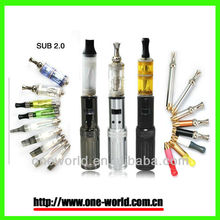 China new electronic cigarette gs sub 2.0 with variable voltage 3.0-6.0 v