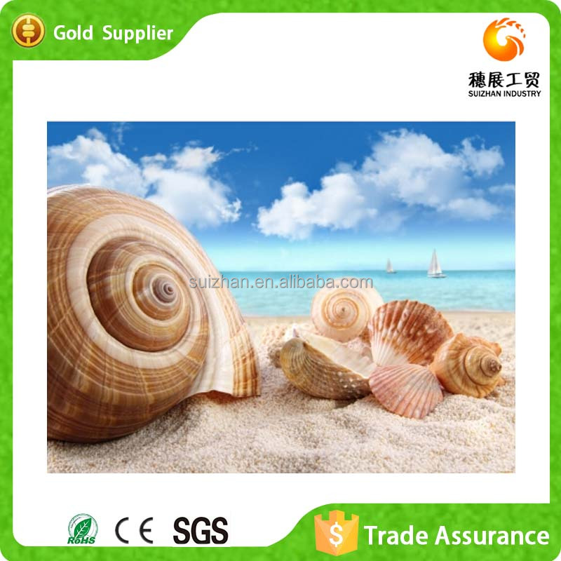 2015 New Products 3D Wall Art Acrylic Paintings Beaches