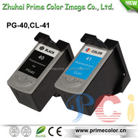 Remanufactured Recycle Ink Cartridge for Canon PG40 CL41