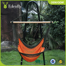outdoor metal garden swing chair hanging chairs wicker egg basket Patio Swings