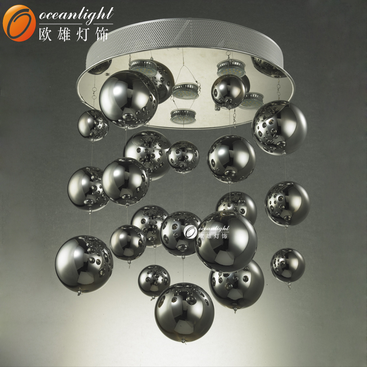 Modern Murano Glass chandelier lamp Pendant light,electroplate glass pendant Lamp