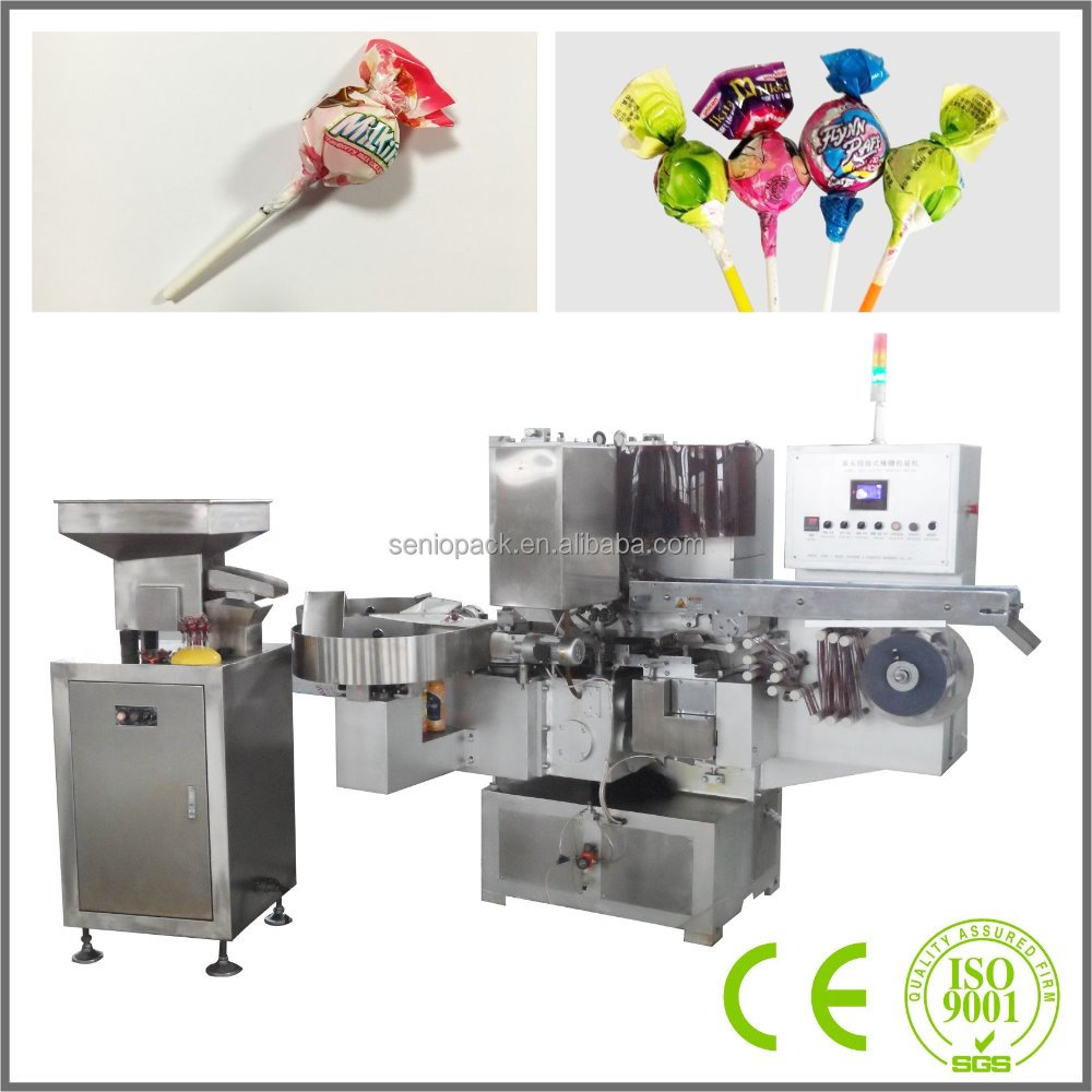 SMB-300 High Speed Double Twist Lollipop Automatic Wrapping Machine
