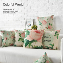 free shipping Customized Sublimation Digital Printed Decorative Throw Pillow Case