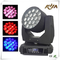 Wholesale or Retail RGBW Quad Color 19X10W LED Moving Head with Motorized Zoom