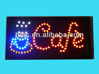 Hot selling high quality indoor open LED sign
