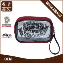 clear cosmetic bag ,promotional cosmetic bag personalized clutch bag with handle