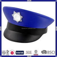 China manufacture bulk custom pu foam toy/ pu police cap