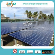 solar panel racking, ground pv support structure