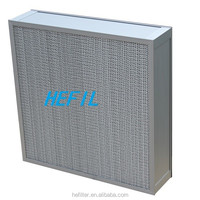h13 Separator air filter with gavanized steel frame