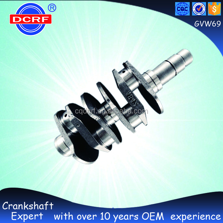 Forged Steel Crankshaft Parts Car Engine Parts Car Crankshaft for Volkswagen