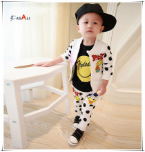 customized clothes Wholesale Fashion kids clothes With OEM service boy cotton clothing sets