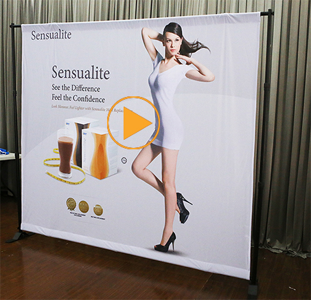 Classic Portable solid color printed Studio photo backdrop