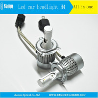 2017 the best sellers all in one E-mark LED C6 H4 Headlights C6 high lumen Car