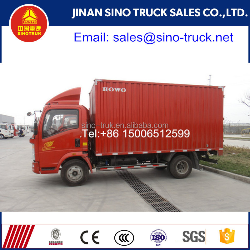 High Quality Small Box Truck Van Van Cargo Truck for sale in Africa