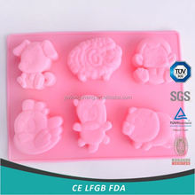 Main product simple design dessert silicone cake molds fast delivery