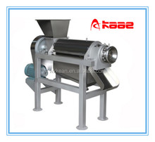 industrial screw type vegetable cold press juicer machine