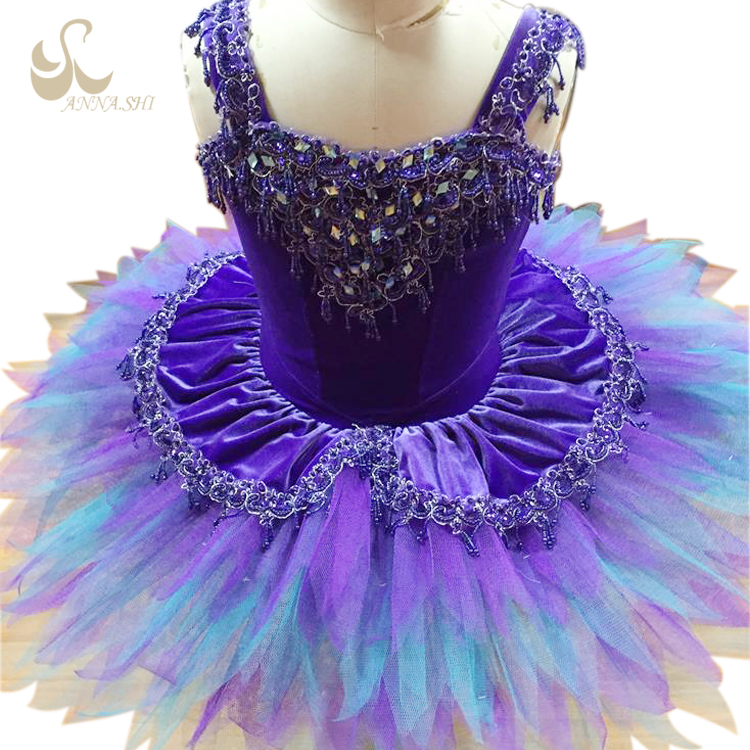 Anna Shi 2017 new style Spandex Dance adult ballet dress