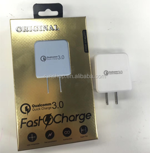 Wholesale 2.4A Quick Charge 3.0 Safe QC Tech Fast Double Charger Wholesale
