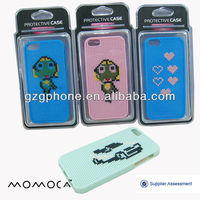 TPU DIY cross-stitch mobile phone case for iphone5