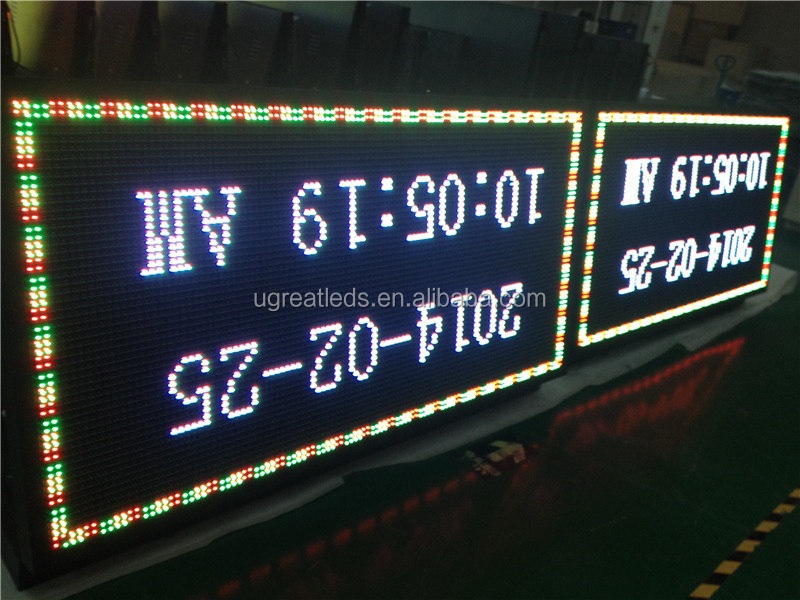 Double Faces Front Access Electronic LED Service Sign of P10 P12 P16 P20