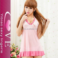 Hot Sexy Transparent Nighties Women Unique Sexy School Girls Babydoll