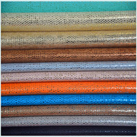 2016 new design colourful transfer film top grain PU leather for shoes
