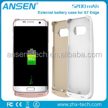 online shopping shenzhen the external power bank cell phone battery for Samsung S7 Edge